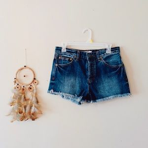 Free People Jean Shorts🌛